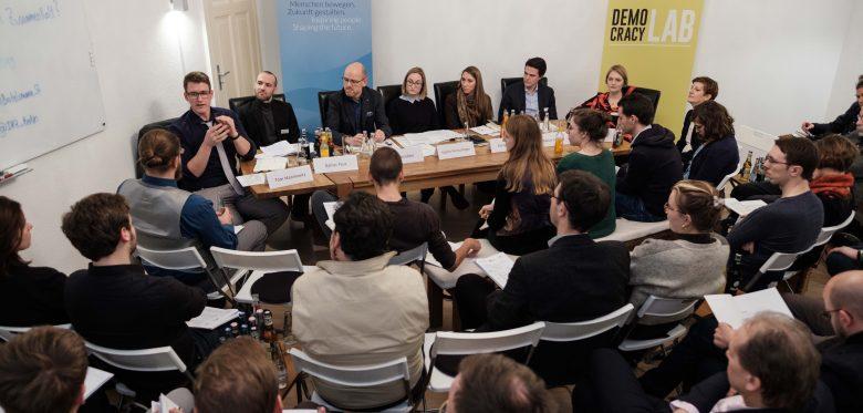 Podiumsdiskussion im Progressiven Zentrum, Januar 2019